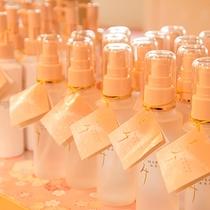 *【売店】客室にあるまろみシリーズ化粧水は、売店で販売