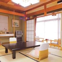 *【客室一例】花の館・一般和室