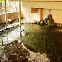 *【大浴場】露天風呂「為の助」