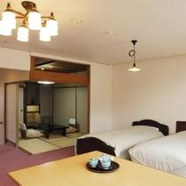 *【客室一例】花の館:バリアフリー客室