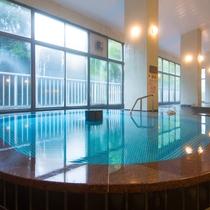 *【大浴場】「むらさき」良質な温泉で旅の疲れを癒やします