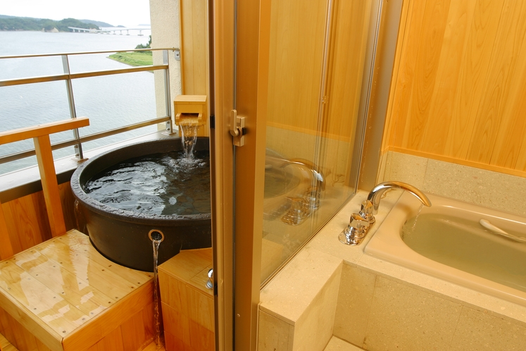 客室の露天風呂
