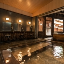 内風呂 ひのきの湯2