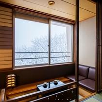 ゲスト和室10畳・冬③