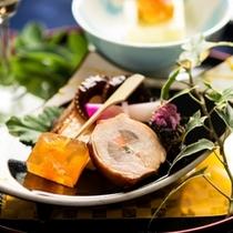 季節の和食膳・料理例/前菜一例