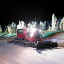 ナイトクルーザー号で行く「樹氷幻想回廊」ツアー