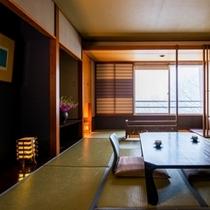 ゲスト和室10畳・冬①