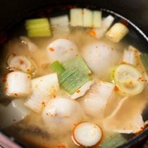 朝食バイキング一例/蔵王名物 からから汁