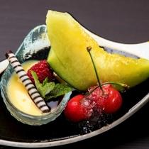 季節の和食膳・料理例/旬のデザート例