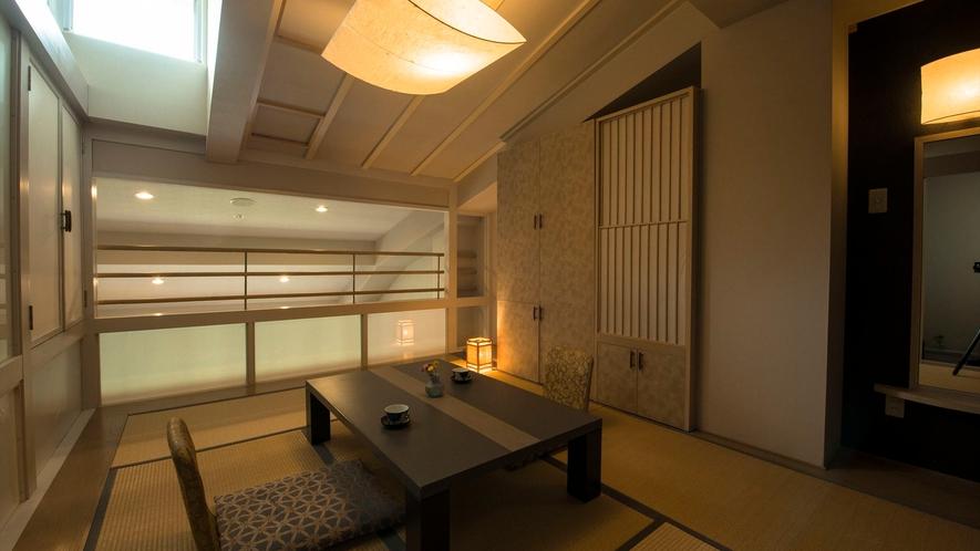 【セゾンコート棟】ジュニアスイート メゾネット2F 和室