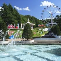 【リナワールド】東北最大級の遊園地!当館から車20分程
