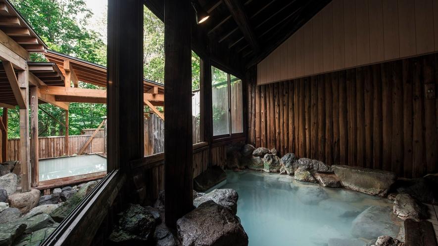 【岩風呂】大浴場