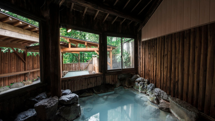 【内風呂】木もれ陽の湯