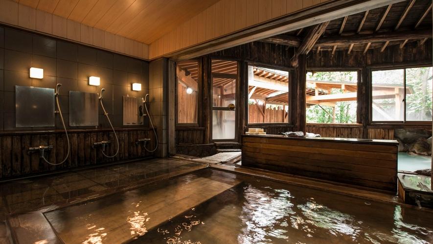 【内風呂】ひのきの湯