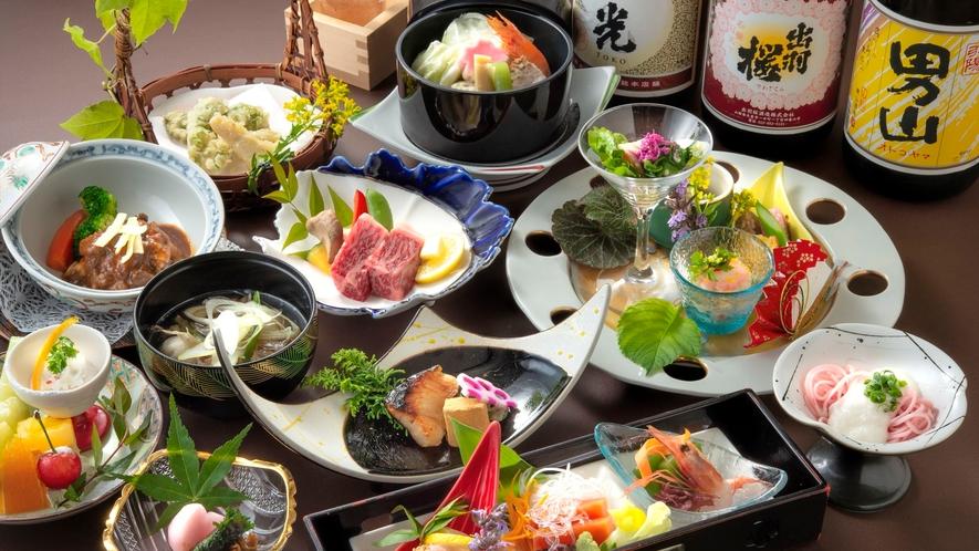 【春の美食フェア】春の食材をふんだんに使用した美食&美酒を堪能するプラン♪