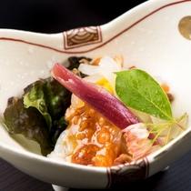 季節の和食膳・料理例/酢の物一例