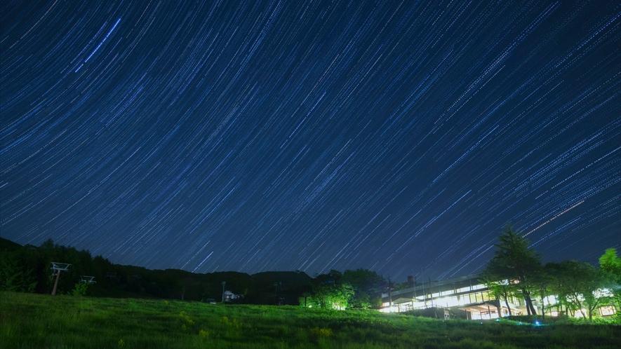【タカミヤGアクティビティ/星空鑑賞】標高800mの位置から、満点の星空を。シート&ブランケットを貸