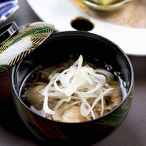 季節の和食膳・料理例/お椀一例