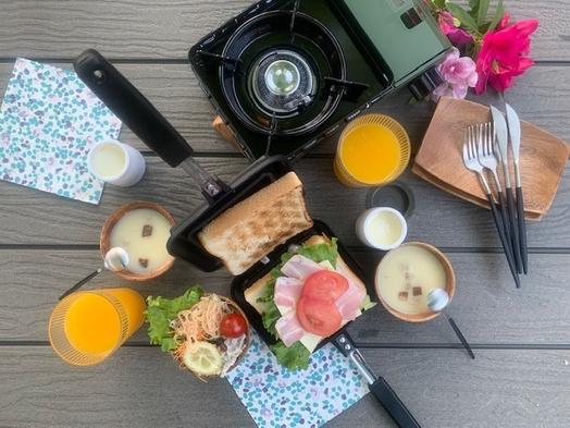 3棟限定!大自然の中でバーベキューを満喫しよう!朝夕の食事はコテージにて。