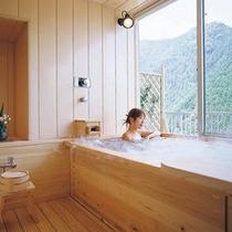 《ホテルANNEX》   展望風呂付和室