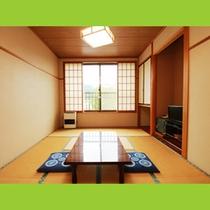 10畳和室☆部屋から眺める四季をお楽しみ下さい♪