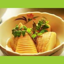 筍は柔らかく、しっかりあく抜きされて優しい味付け