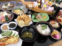 季節の会席:春(お料理一例)