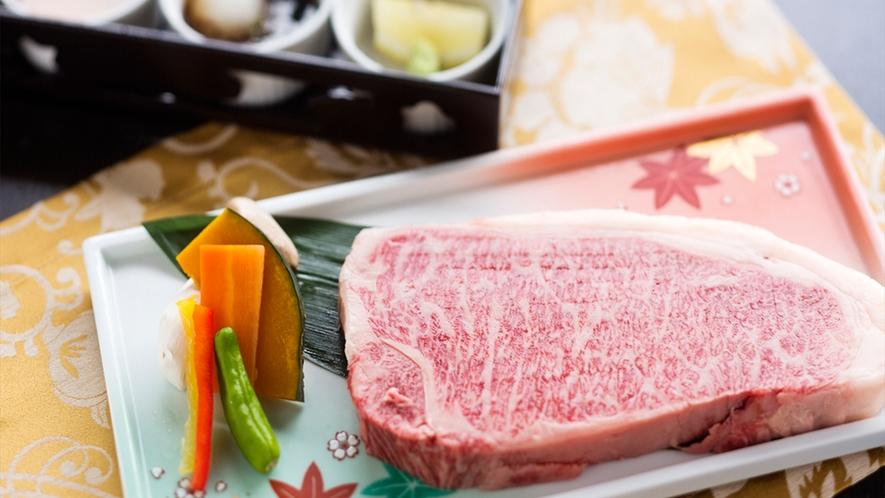 【但馬牛ステーキ】