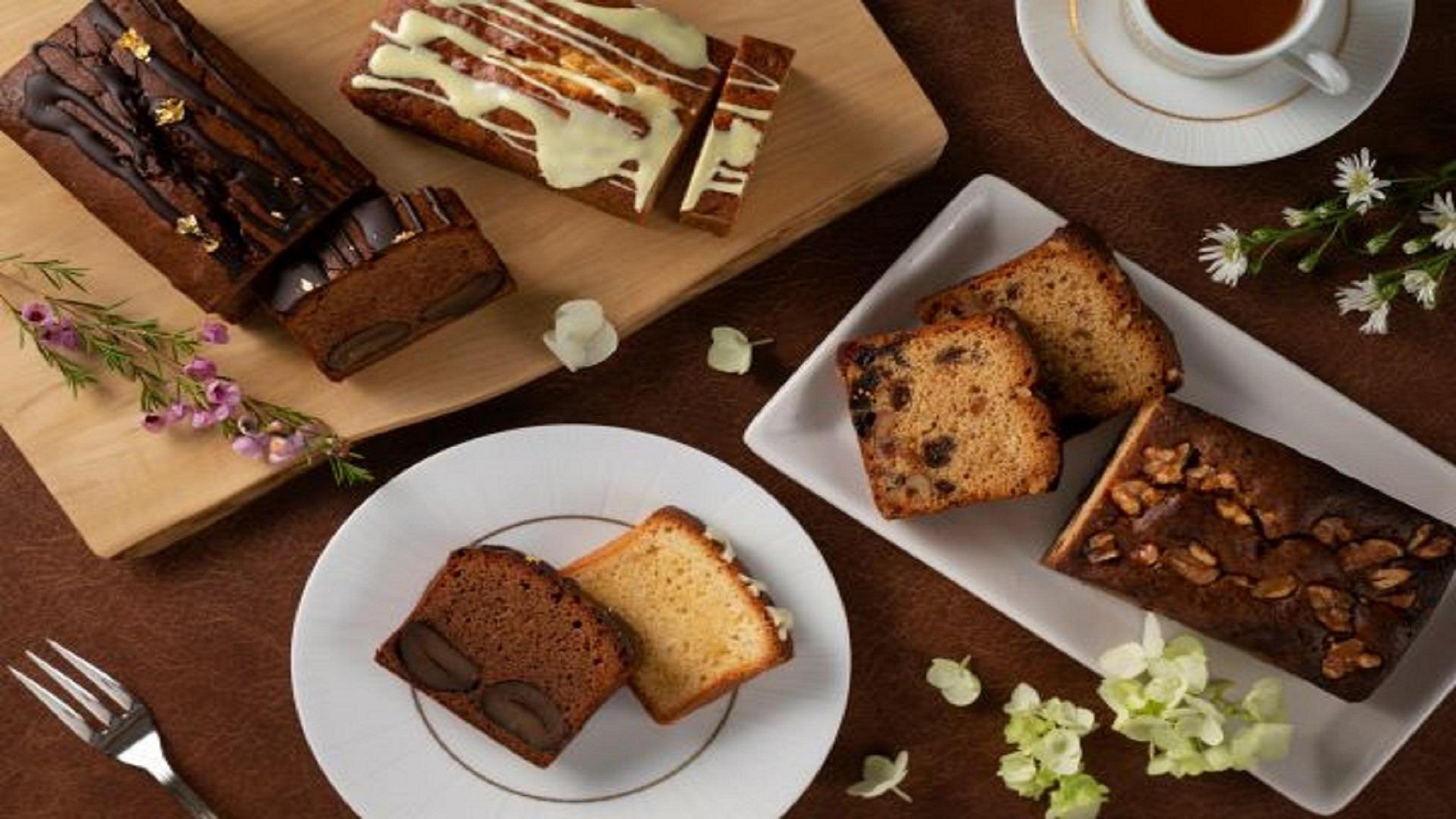 【ティーラウンジ クローバー】パティシエが心を込めて作る、オリジナルパウンドケーキのテイクアウト商品