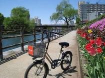 盛岡の街並みを颯爽と。レンタサイクル「モリクル」※冬季期間はお休み