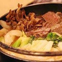 冬の味わい〜シカ鍋です♪(イメージ画像です)