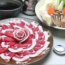 冬のポカポカ〜シシ鍋です♪(イメージ画像です)