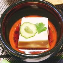 狐塚自慢の逸品「ごま豆腐」