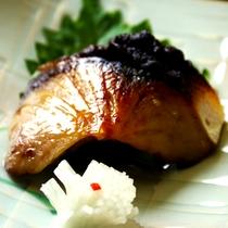 ミニ会席の焼き魚