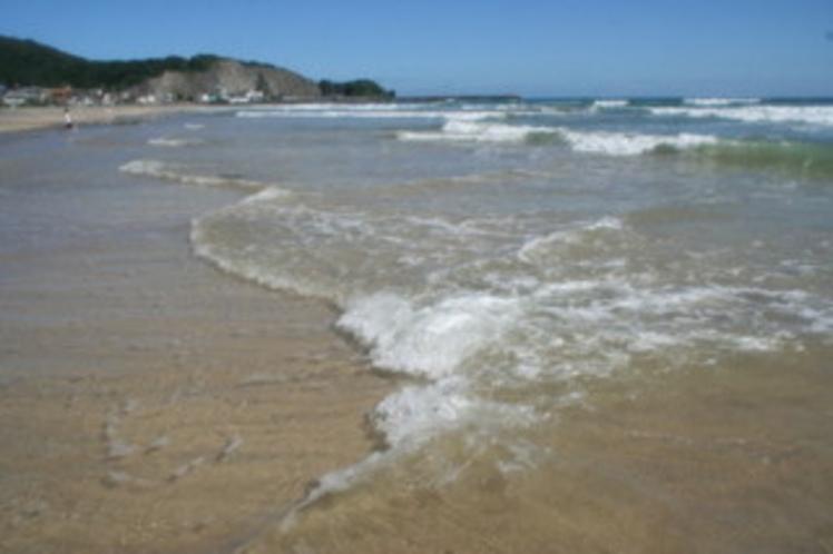 綺麗な白い砂浜