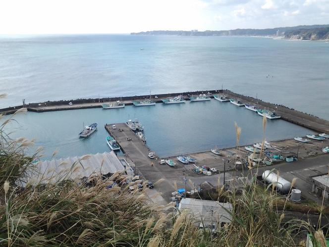 田舎の漁港