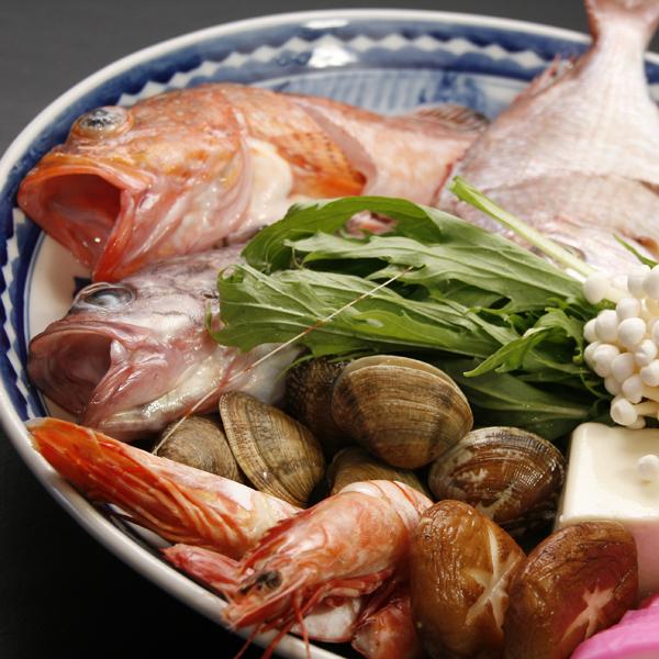 旬の魚介一例