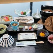 *【朝食一例】色とりどりのやさしい味わいの食材。