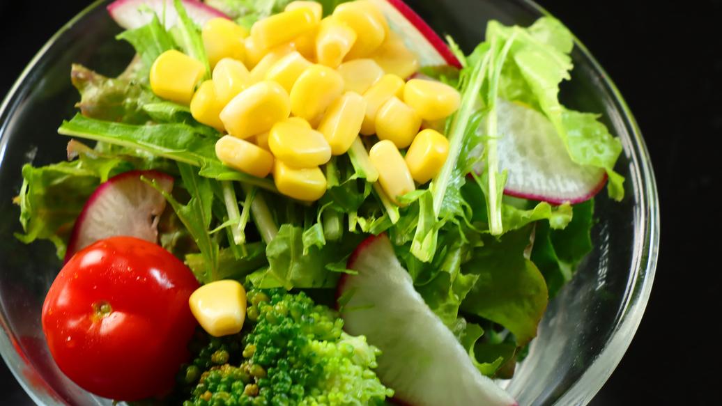 ◆【料理】新鮮!地場産野菜のサラダ