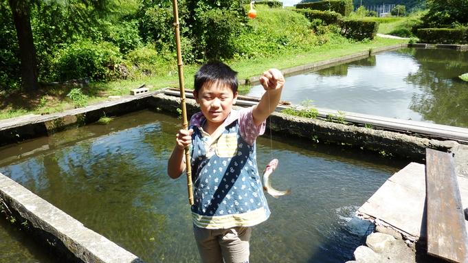 【秋冬旅セール】◆【1泊2食/ファミリー】ニジマス釣り体験等3大特典付