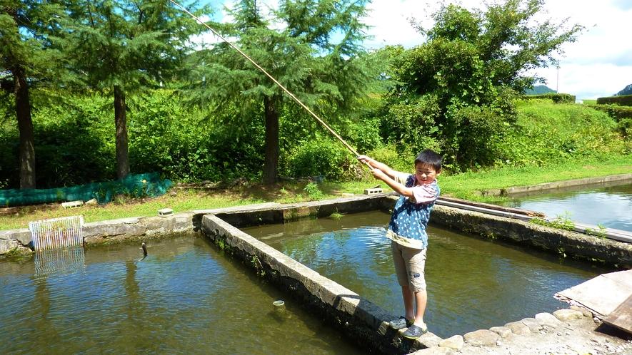 ◆【施設】釣り堀体験