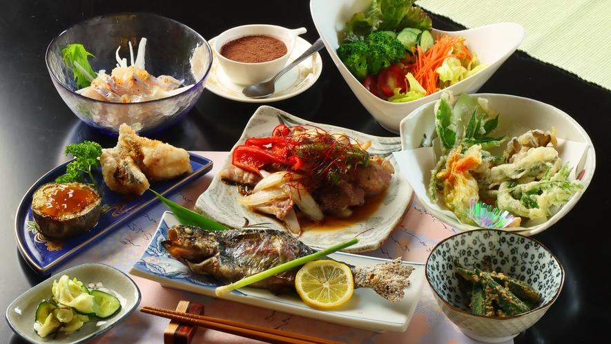 ◆【料理】ライトコースの夕食一例