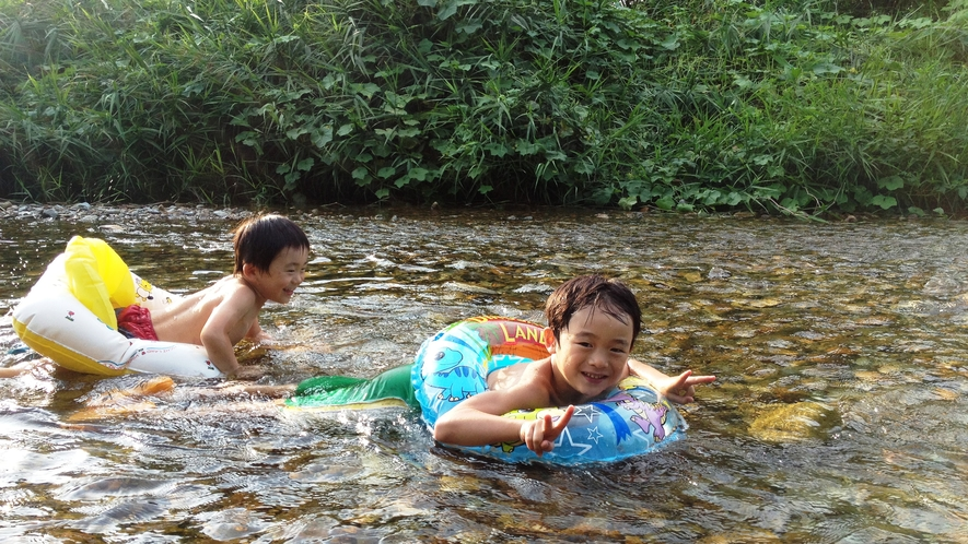 ◆【施設】川遊び