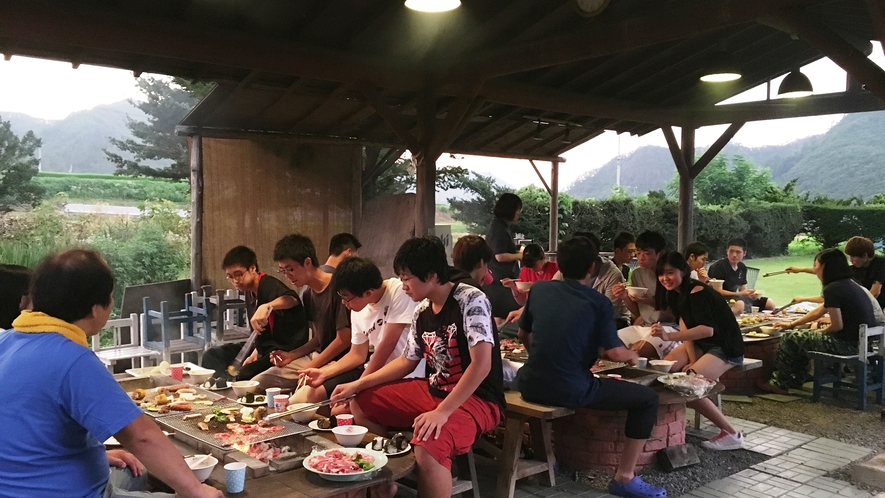 ◆【施設】BBQ風景