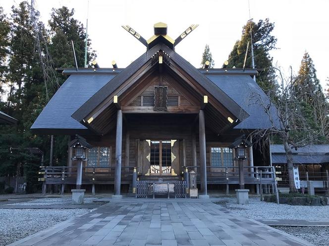 【観光】開成山大神宮・・・伊勢神宮の御分霊が奉還され創建された神社。東北のお伊勢さま。