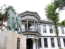 【観光】安積歴史博物館・・・アンティークな雰囲気漂う館内には撮影スポットが多くあります。