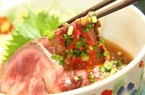 ご夕食一例:柔らかくきめ細やかな肉質が特徴の赤城牛