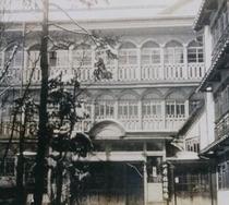 明治時代に建設した当時の一井旅館