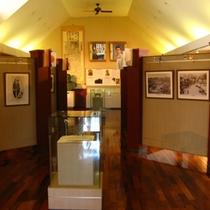 ベルツ記念館の展示室(2階)