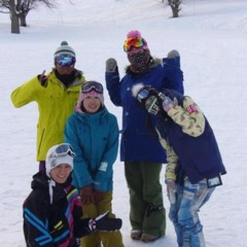 冬は草津国際スキー場でスキーやスノボーを楽しもう♪